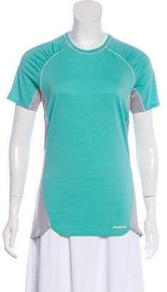 Patagonia Merino Wool Colorblock T-Shirt