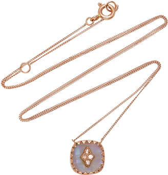 Pascale Monvoisin Pierrot No.2 Moonstone Necklace