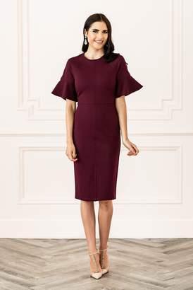 Rachel Parcell Monaco Dress in Wine