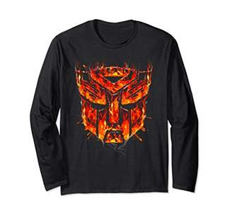 Transformers Emblem Fire Long-Sleeve T-Shirt