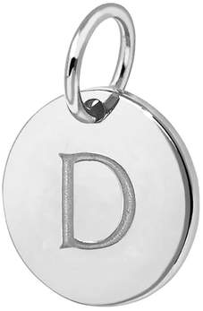 Missoma D Sterling Silver Charm
