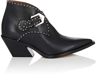 Givenchy Women's Studded Leather Ankle Boots