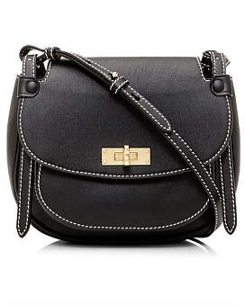 Bally She Cross Body Saddle Bag