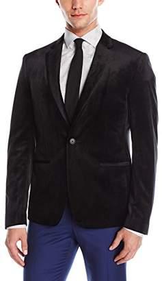 GUESS Men's Velvet Slim Blazer