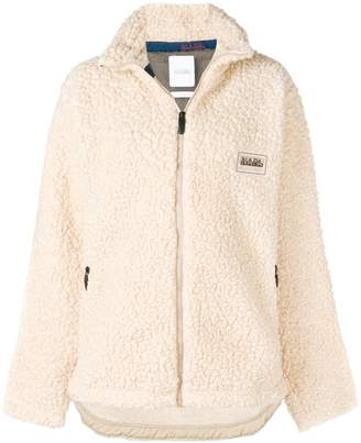 Martine Rose Napa By sherpa zip-up jacket