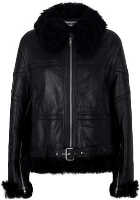 McQ Shearling Flight Jacket