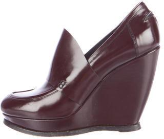 Balenciaga Balenciaga Patent Wedge Loafers