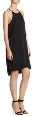 Halston Crepe Tuxedo Dress