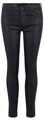 AG Jeans Legging Ankle Skinny Leatherette Jean in Black