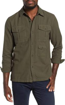 AG Jeans Pioneer Tri-Pocket Long Sleeve Slim Fit Sport Shirt
