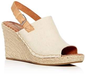 Toms Women's Monica Hemp Espadrille Platform Wedge Sandals
