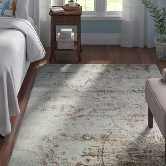 Andover Mills Armand Gray/Light Brown Area Rug