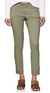 ATM Anthony Thomas Melillo Women's Piqué Cotton Crop Pants - Olive