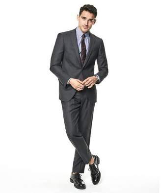 Todd Snyder White Label Sutton Stretch Tropical Wool Suit Jacket in Dark Charcoal