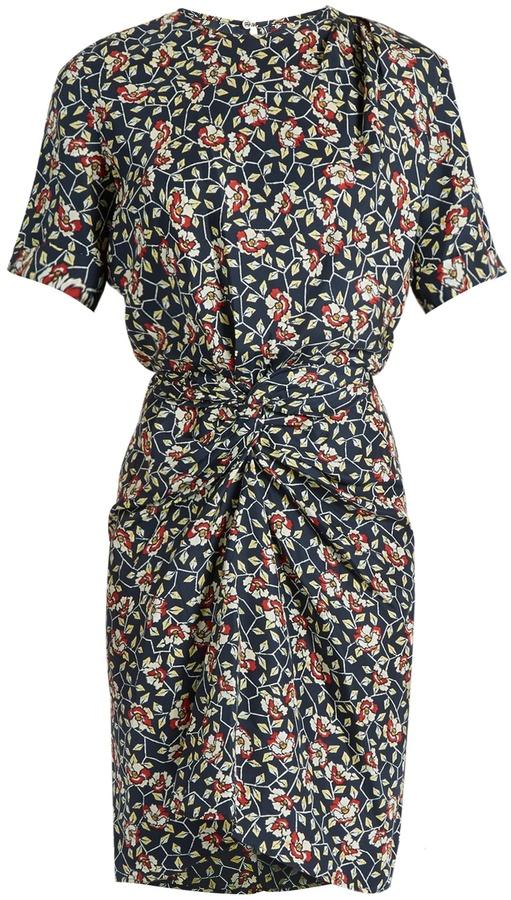 Isabel MarantISABEL MARANT Rehora floral-print silk-habotai dress