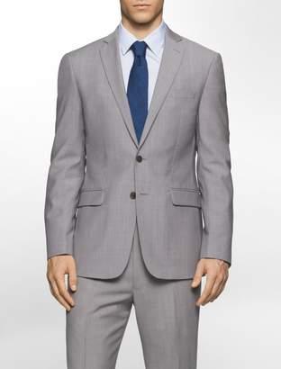 Calvin Klein body slim fit lightweight wool suit jacket