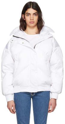 Dunlop Ienki Ienki White Down Puffer Jacket