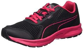 Puma Women's Essential Runner Multisport Outdoor Shoes, (Black-Love Potion 05)