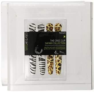 Color Trak Colortrak Safari Croc Hair Sectioning Clips