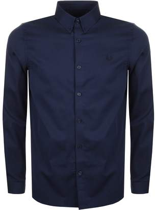 Fred Perry Classic Striped Shirt Navy