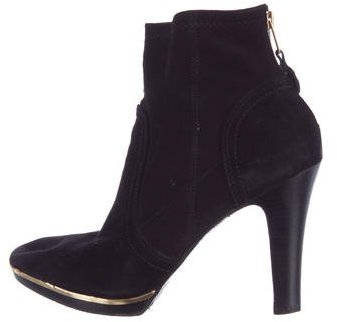 Tory Burch Tory Burch Suede Ankle Boots