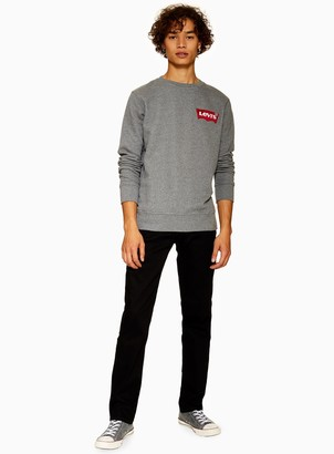 Levi's TopmanTopman 511 Black Slim Fit Jeans