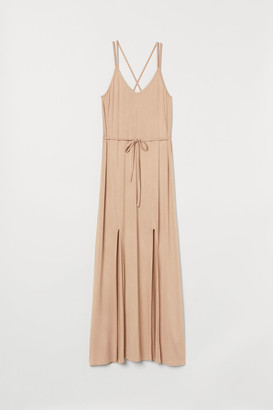 H&M Long Dress - Beige