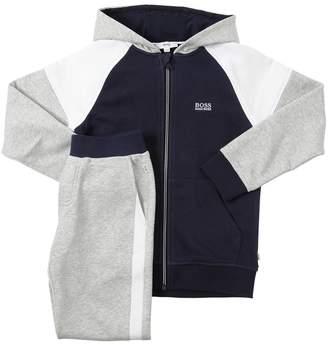 HUGO BOSS Hooded Cotton Sweatshirt & Sweatpants