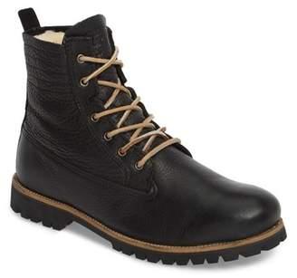 Blackstone IM 12 Plain Toe Boot with Genuine Shearling