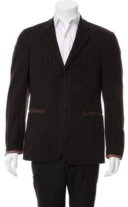 John Varvatos Wool Two-Button Blazer