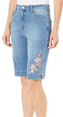 Gloria Vanderbilt Women's Amanda Bermuda Denim Short