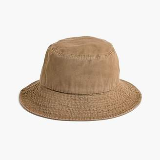 J.Crew Canvas bucket hat