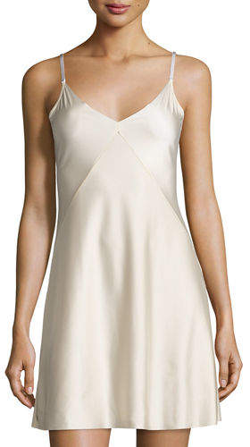 Commando Commando Luxe Satin Princess Raw-Cut Slip