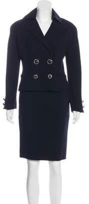 Gianni Versace Vintage Wool Skirt Suit