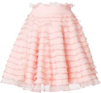 Alexander McQueen short ruffle skirt