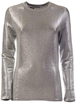 Paco Rabanne Metallic Long Sleeve T-shirt