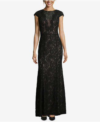 Xscape Evenings Allover Lace Evening Gown
