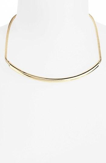 Topshop Tube Collar Necklace
