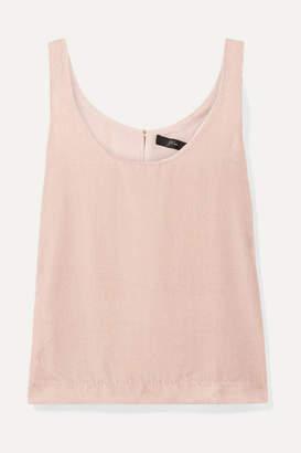 6241537f7b6aa0 J.Crew Rift Velvet Tank - Pastel pink