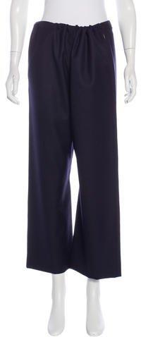 MarniMarni Wool Wide-Leg Pants