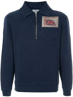 Kent & Curwen zipped neck sweatshirt