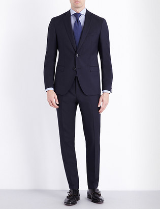 Hugo Boss Extra-slim fit wool suit $610 thestylecure.com