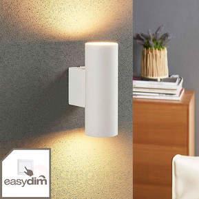 Zylindrische LED-Wandlampe Marly, Easydim-Funktion
