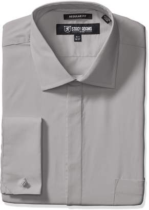 Stacy Adams Men's Big-Tall 39000 Solid Dress Shirt