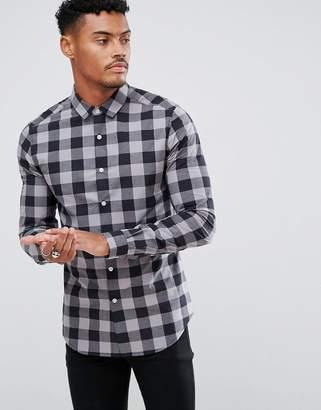 Buffalo David Bitton Asos Design ASOS DESIGN skinny check shirt