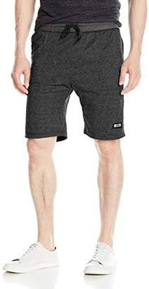 Brooklyn Athletics Men's Jogger Shorts Casual Lounge Drawstring Knit Short