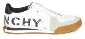 Givenchy Set 3 Logo Leather Sneakers