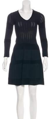 Vicedomini Long Sleeve Mini Dress