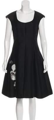 Fendi A-Line Knee-Length Dress