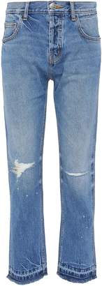 Current/Elliott 'The Throwback Original' ripped jeans